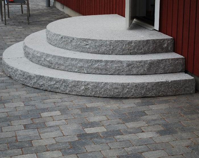 Entréplan granit 1500 mm halvmåne alternativt rektangulär   Allt i ...