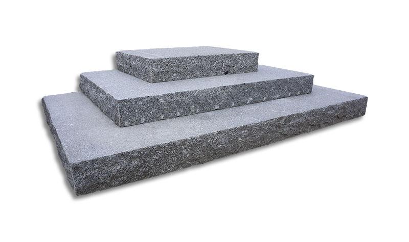 Stentrappa rektangulär form
